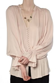 Ghost Lily Blouse Nude
