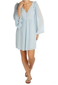Ghost Stella Dress Powder Blue