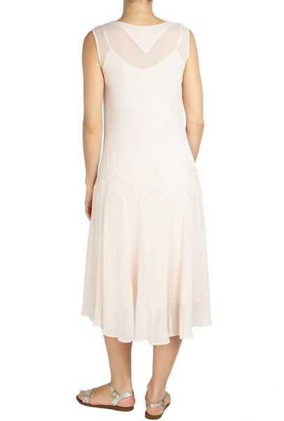 Ghost Aurelie Dress Nude