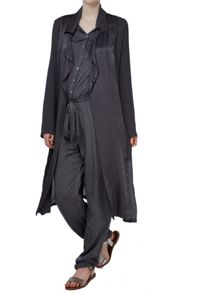 Ghost Gwyneth Trench Charcoal