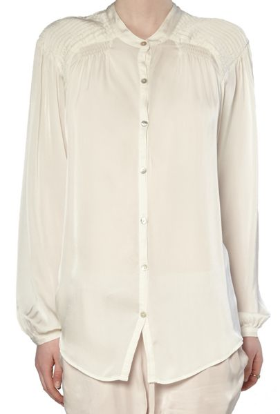 Ghost Sybil Blouse Ivory