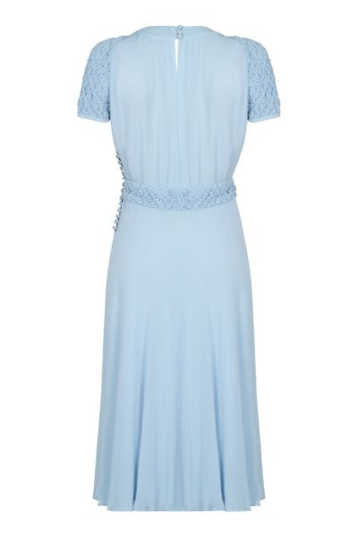 Ghost Celia Dress Powder Blue