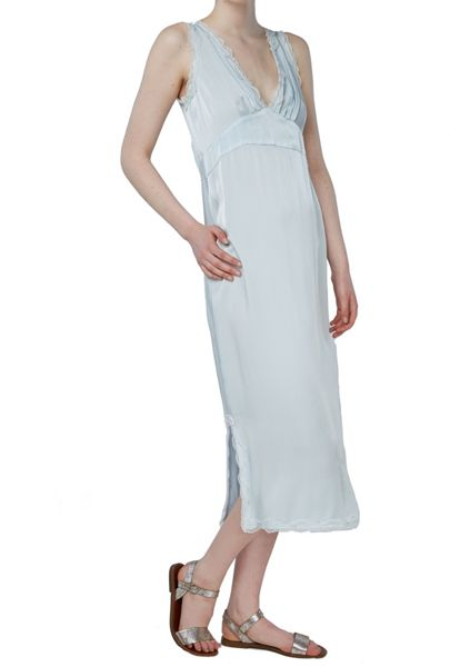 Ghost Emma Dress Whisper Blue