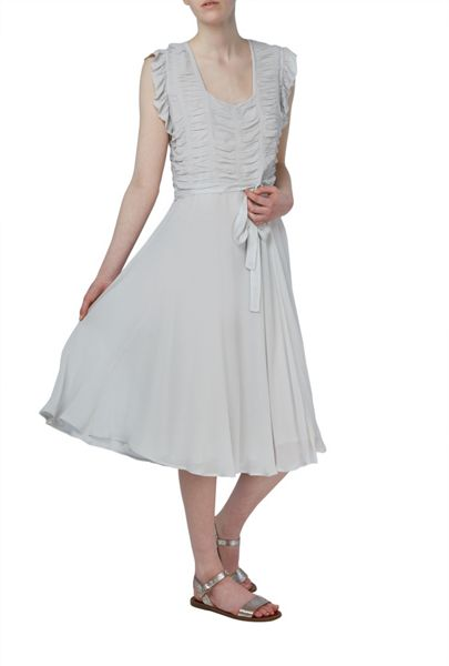 Ghost Orla Dress Silver