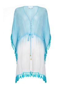 Ghost Joy Kaftan Ocean Turq