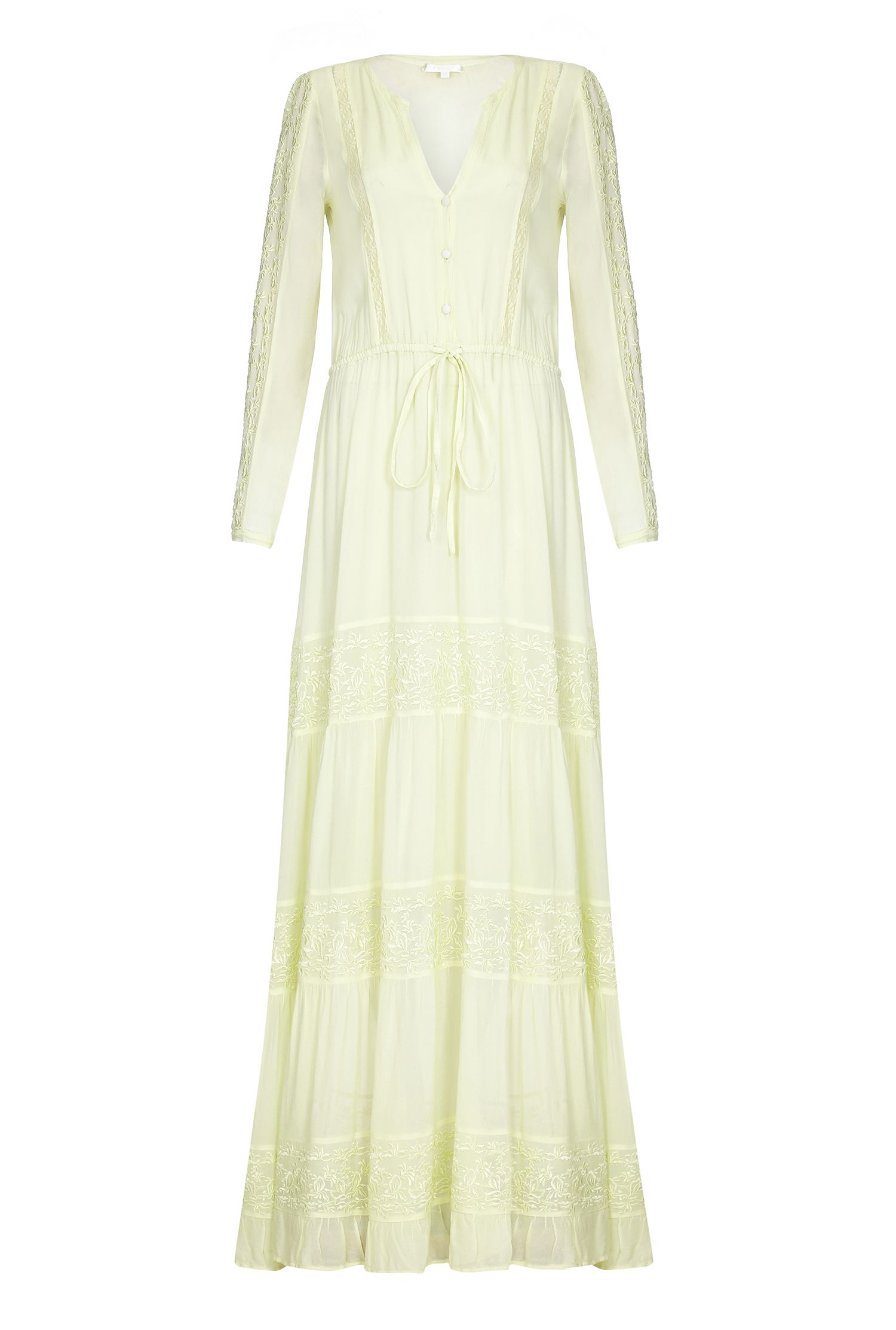 Formal Edwardian Gowns Ghost Eliza Dress Lemongrass £171.50 AT vintagedancer.com