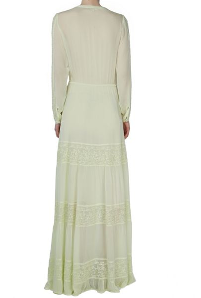 Ghost Eliza Dress Lemongrass