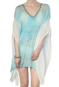 Ghost Milly Kaftan Dazzling Blue