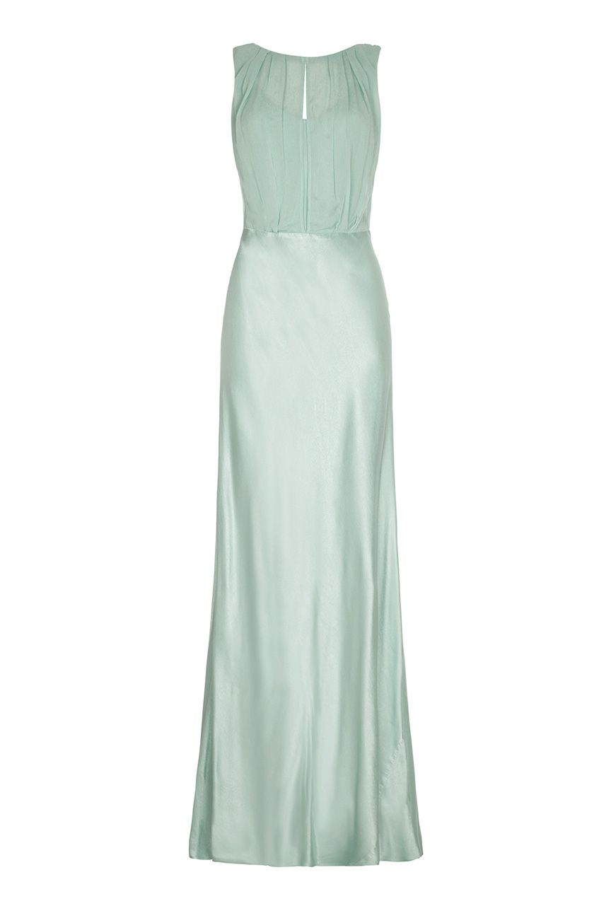 Ghost Claudia Dress, Green