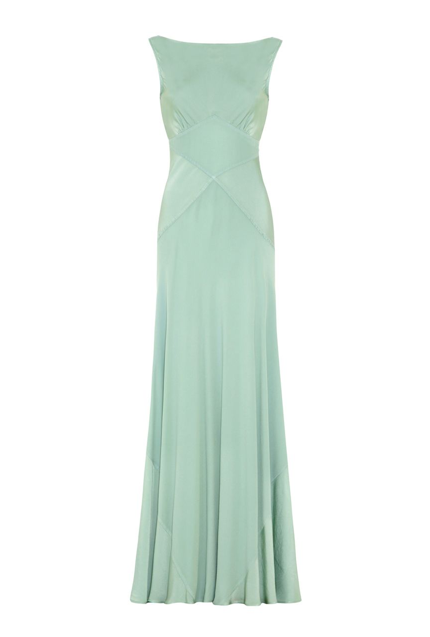 Ghost Taylor Dress, Green