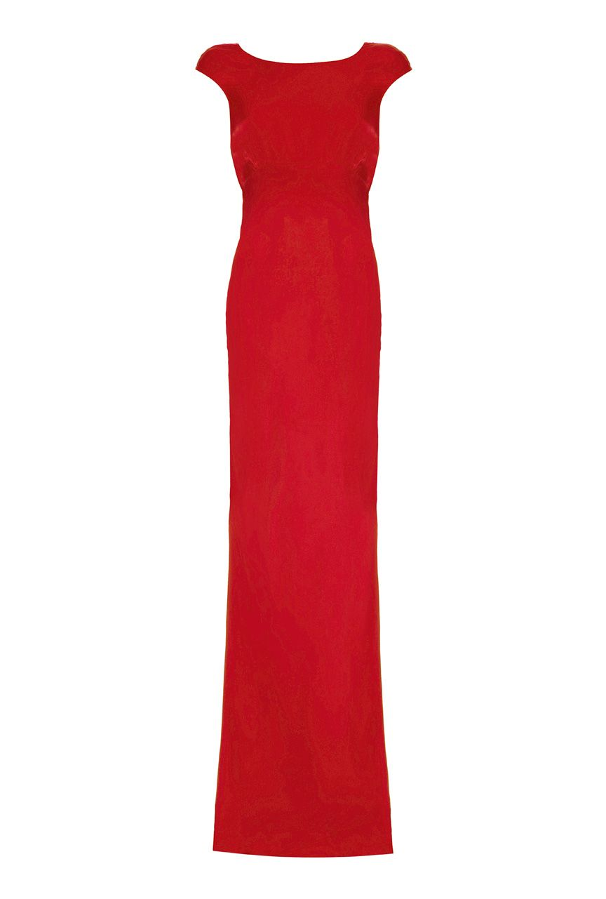 Ghost Salma Dress, Red