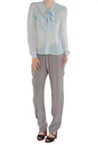 Ghost Danice Blouse Faded Blue