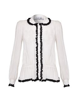 Lila Blouse Winter White