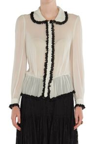 Ghost Lila Blouse Winter White