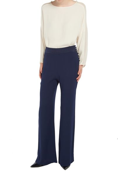 Ghost Alice Trousers Navy
