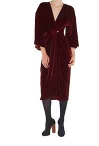 Ghost Jess Dress Russet