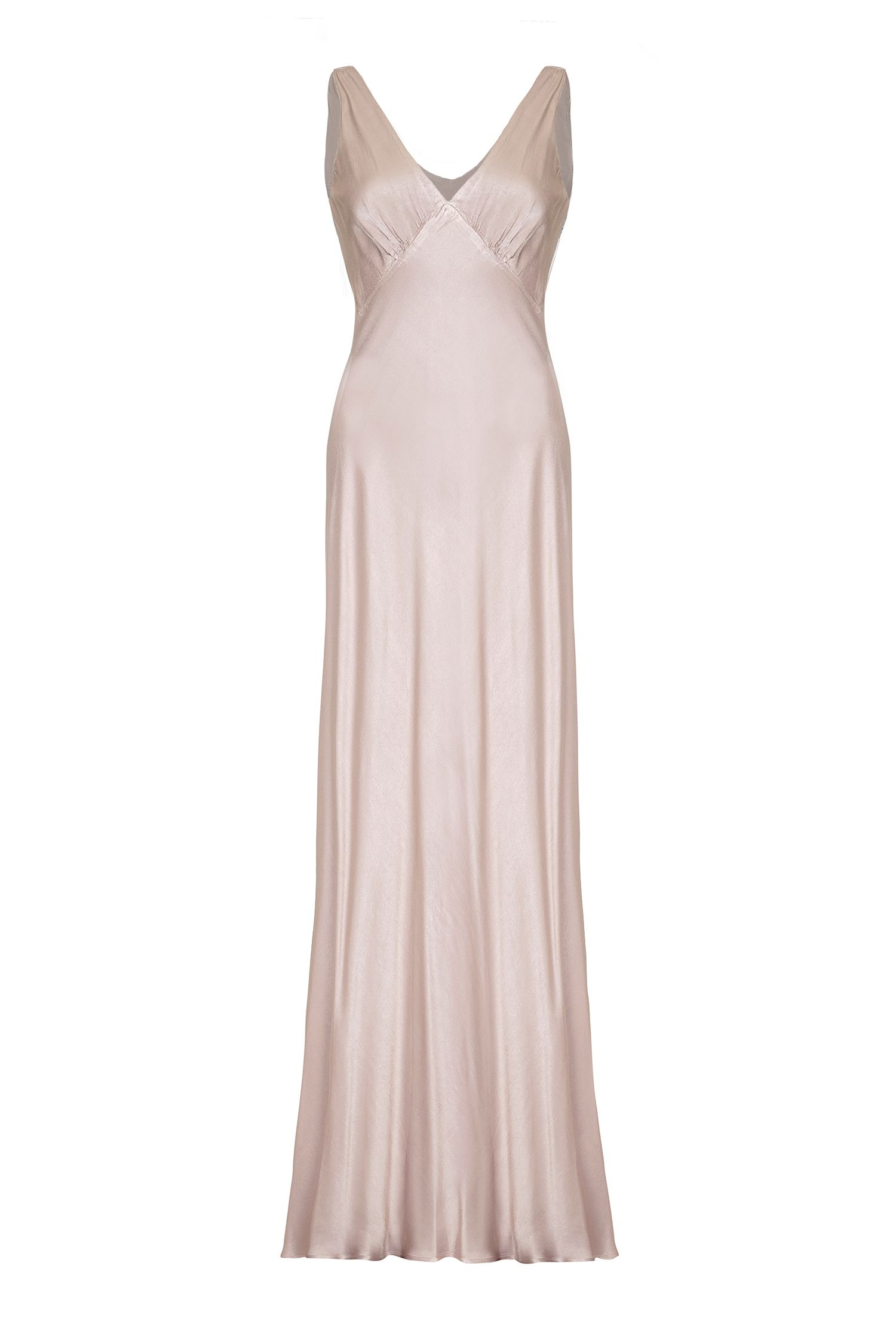 Ghost Pearl Dress, Taupe
