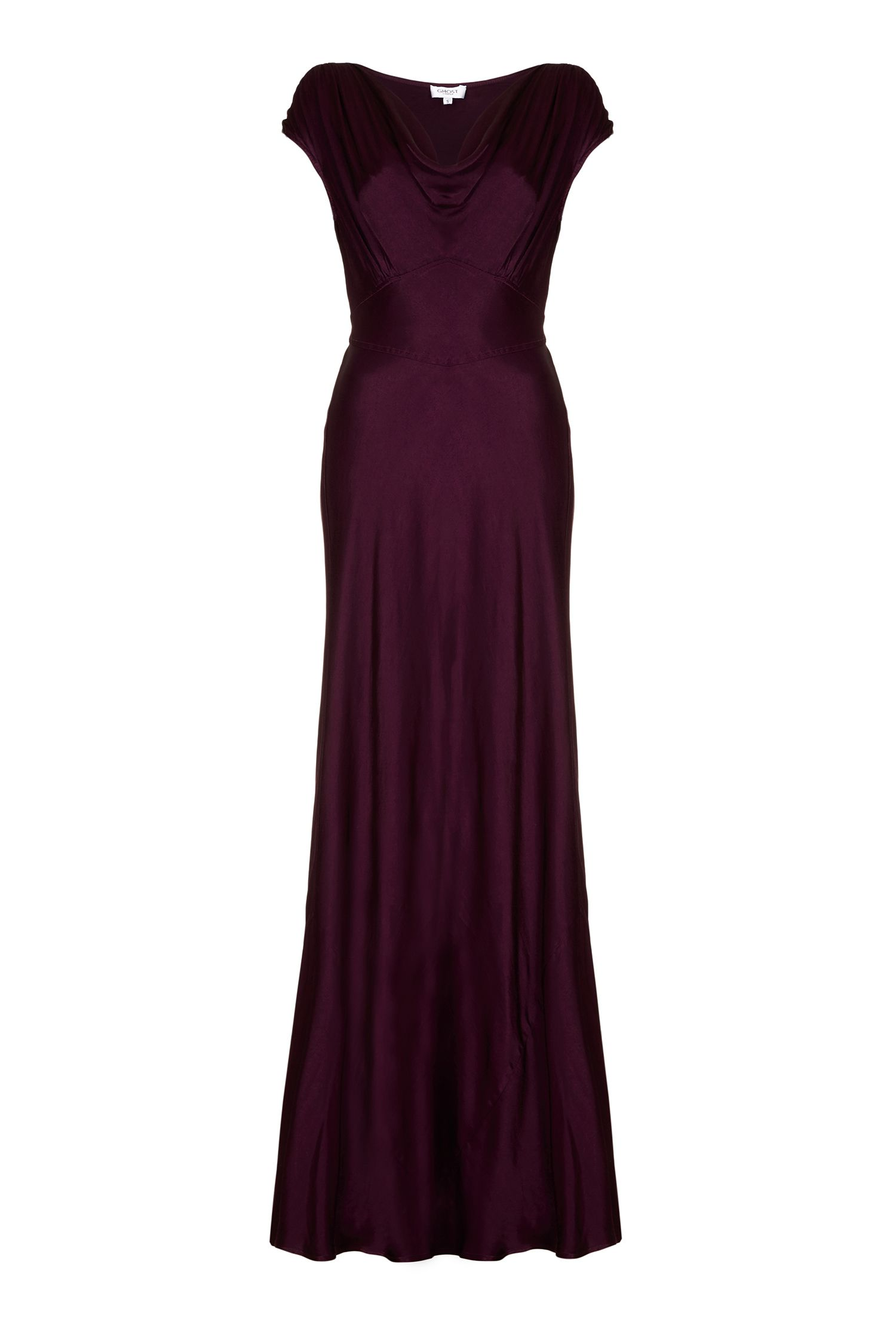 Ghost Fern Dress, Purple