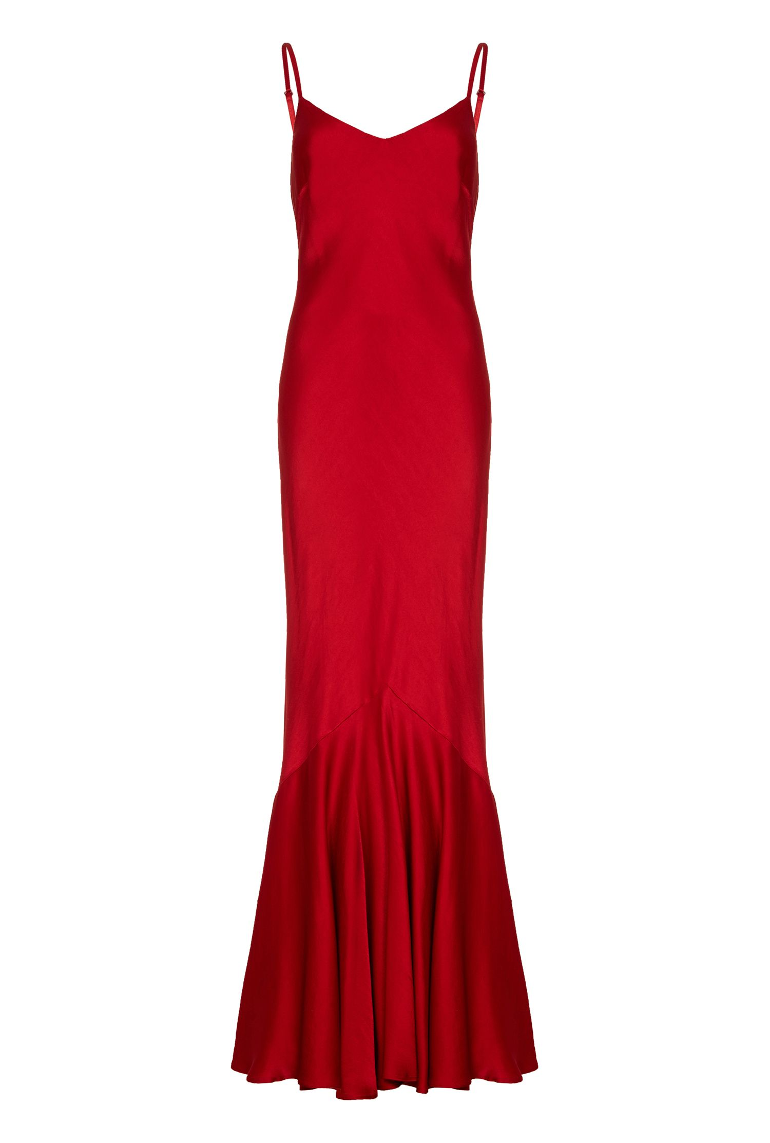 Ghost Bella Dress, Red