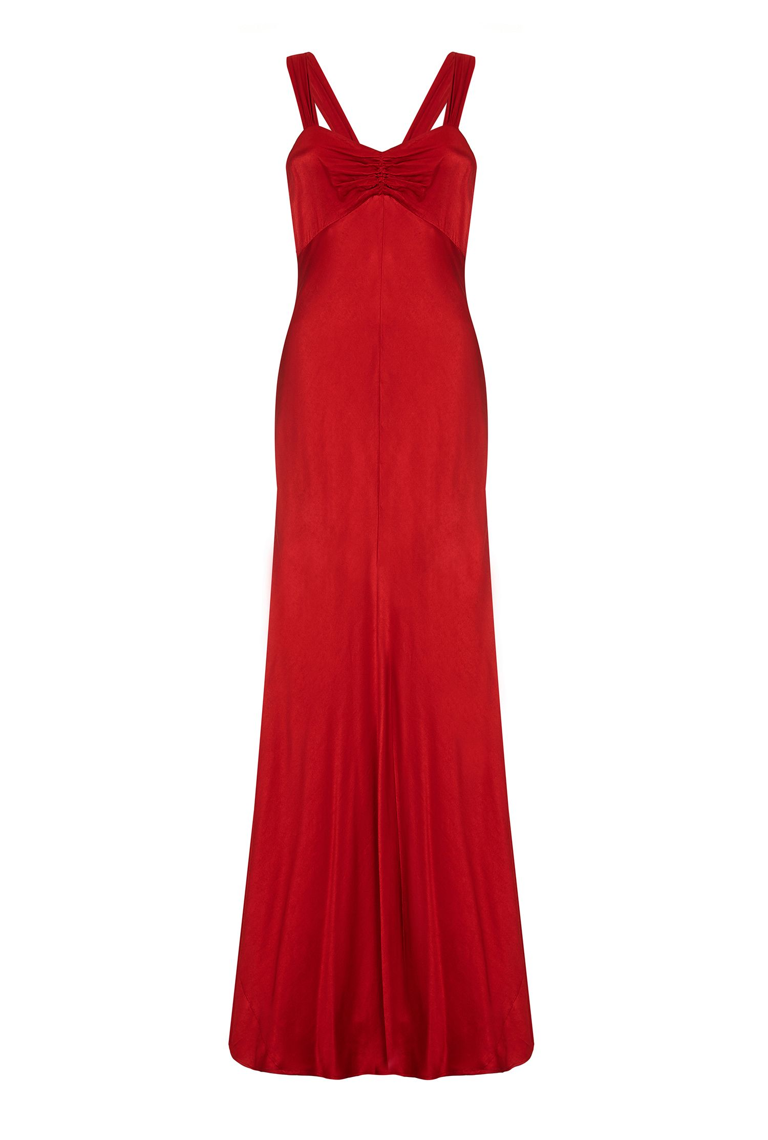 Ghost Bea Dress, Red