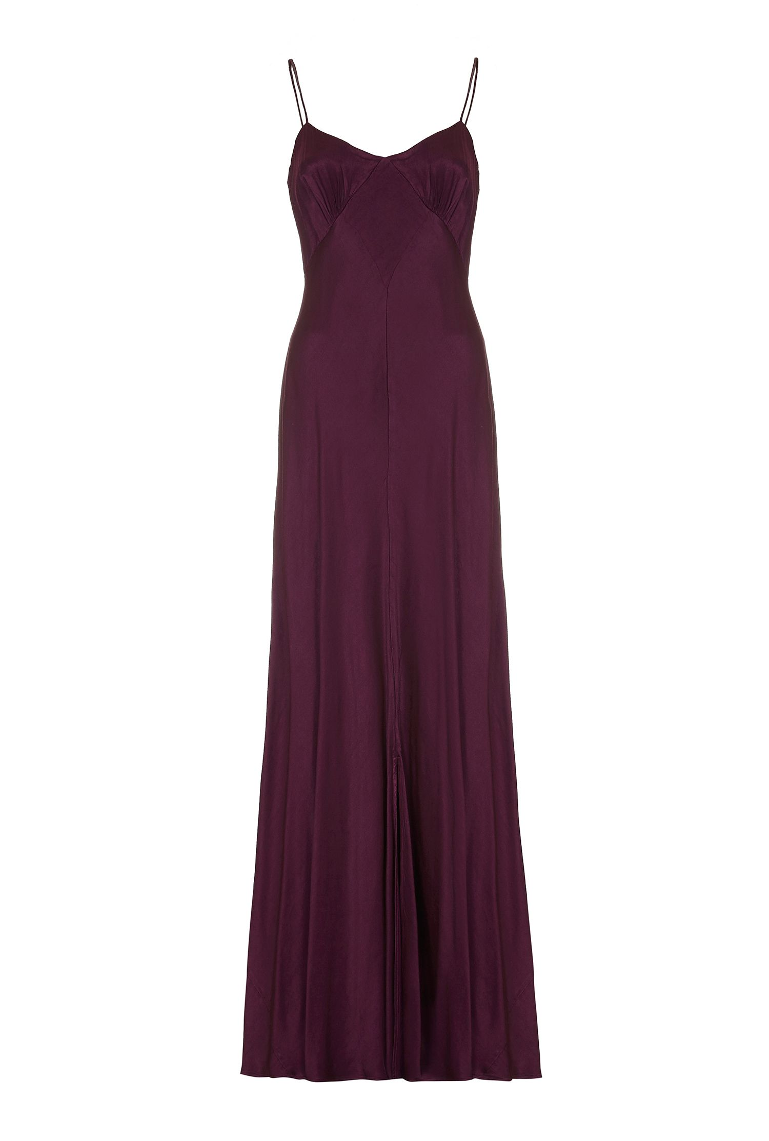 Ghost Ivy Dress, Purple