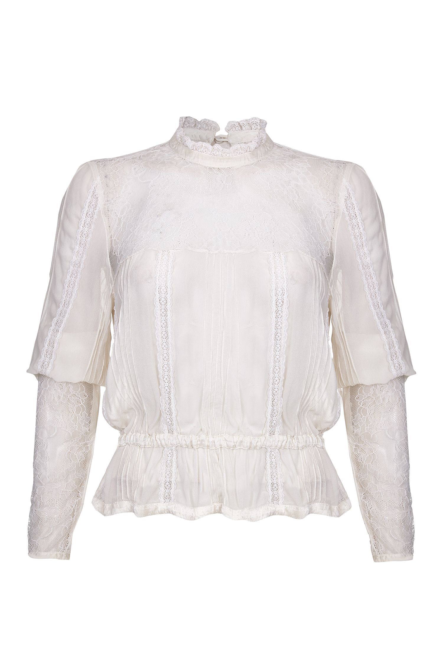 Ghost Rosanne Blouse, Cream