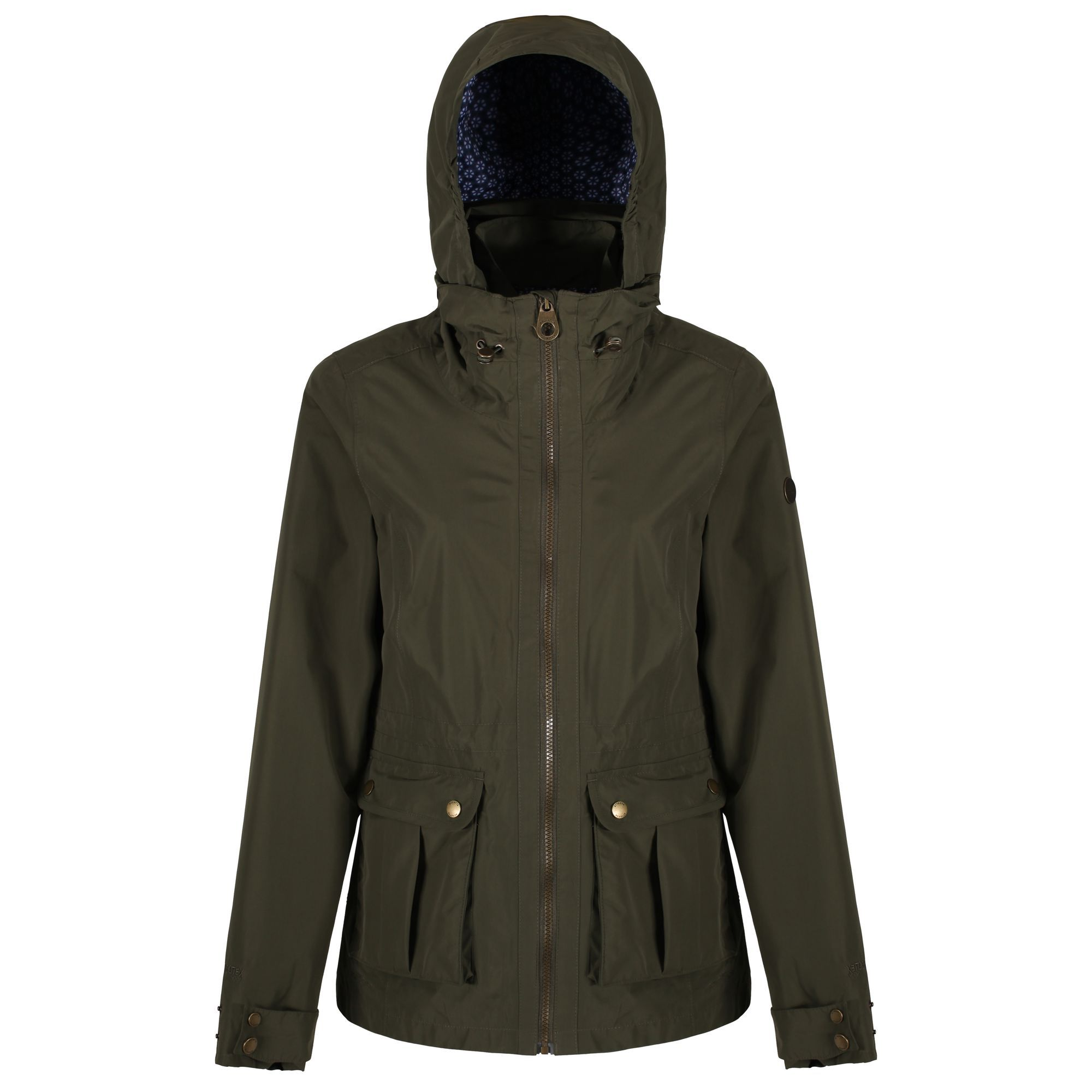 Regatta Nardia Waterproof Jacket, Ivy