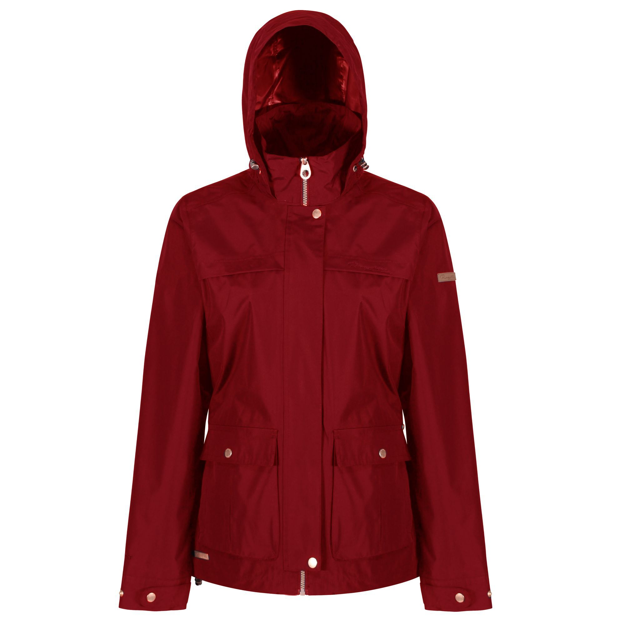 Regatta Landelina Waterproof Jacket, Red