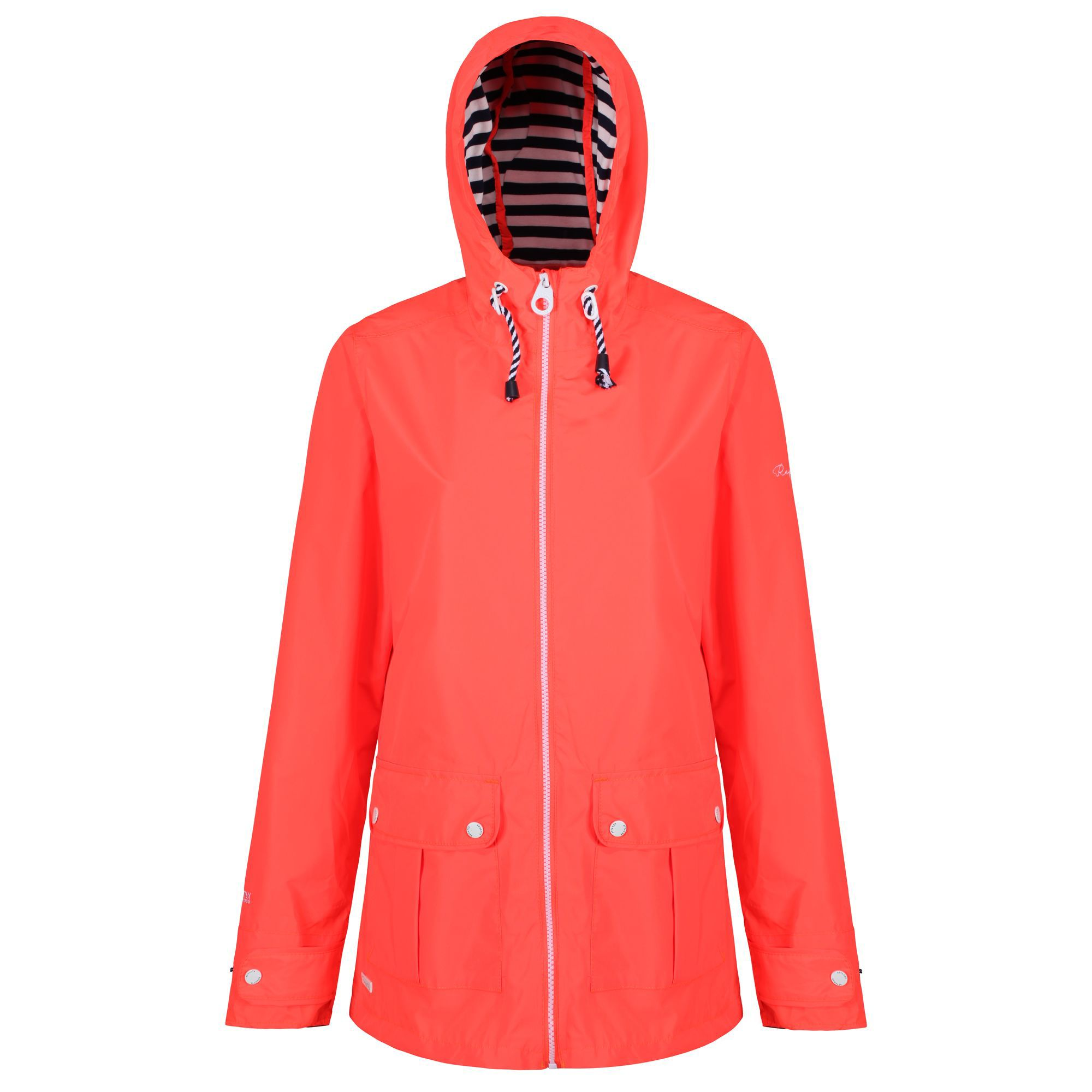 Regatta Bayeur Waterproof Jacket, Hot Coral