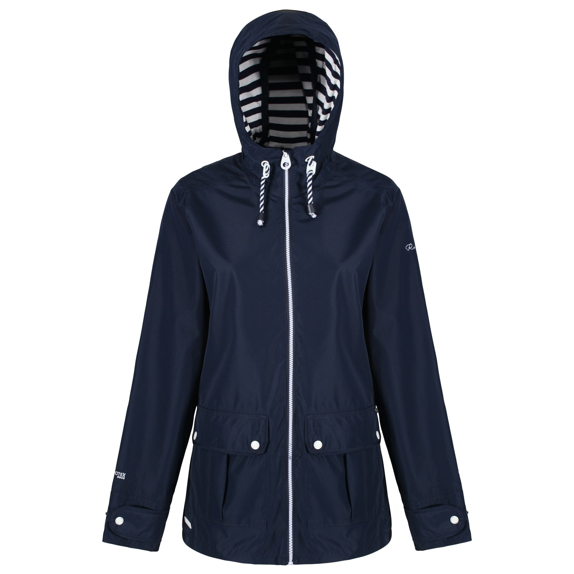 Regatta Bayeur Waterproof Jacket, Blue