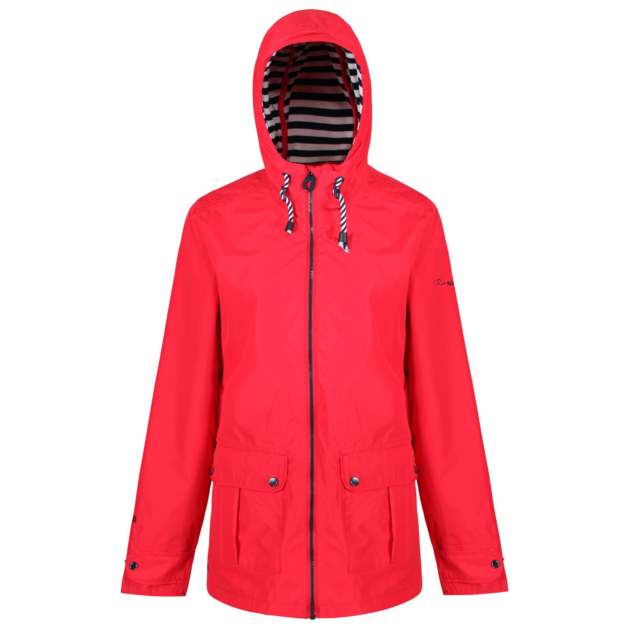 Regatta Bayeur Waterproof Jacket, Red