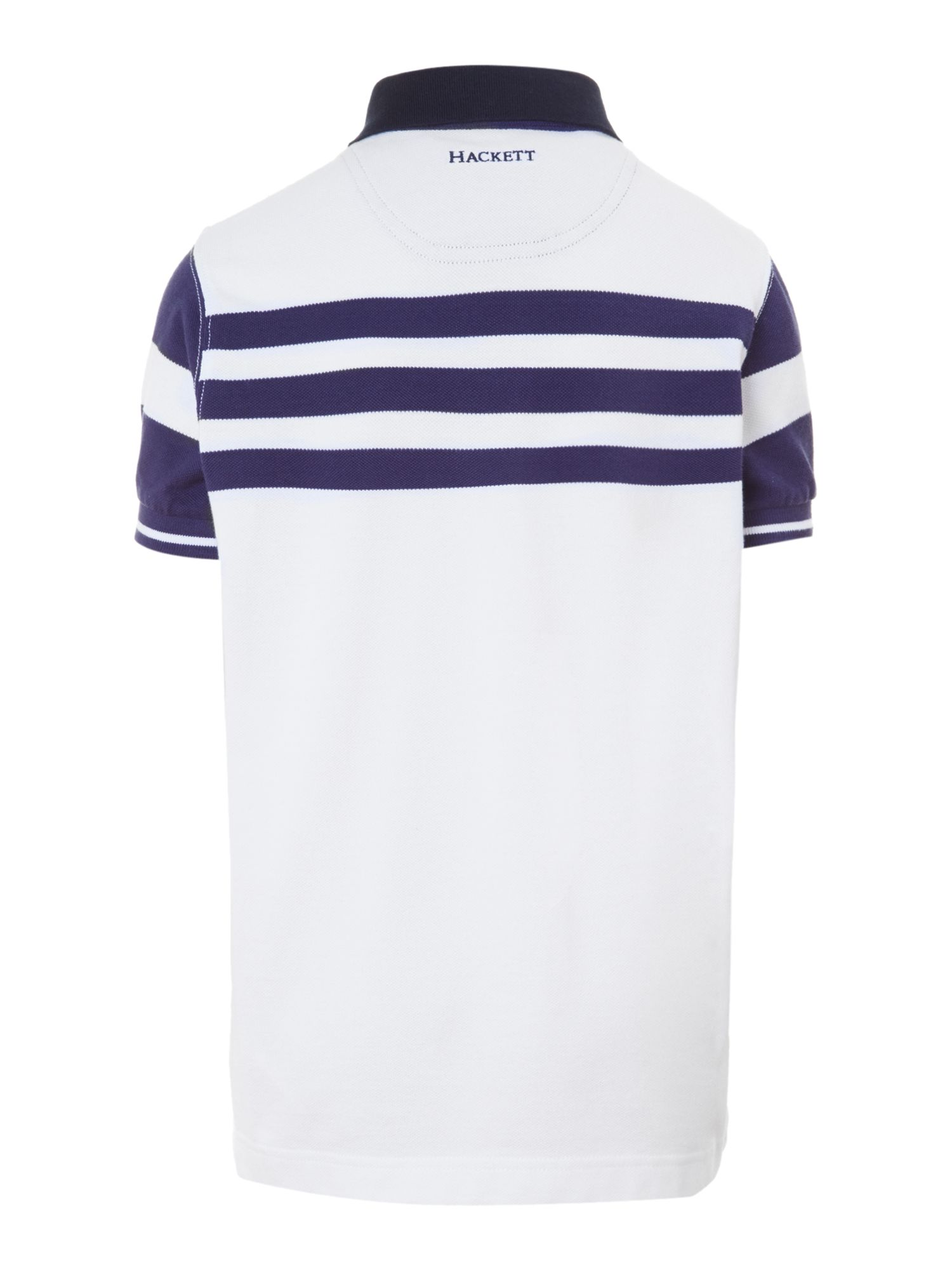 Boy`s stripped polo