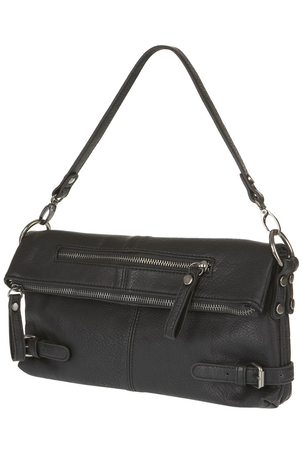 Warehouse Folded shoulder bag Black product image