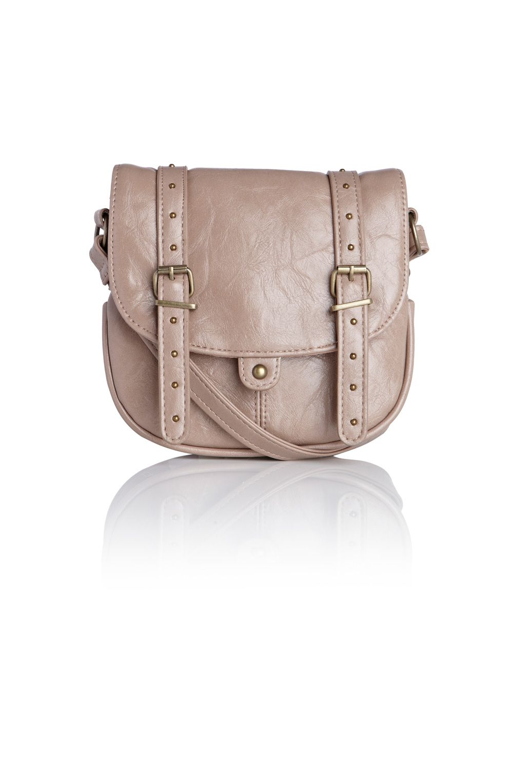 Warehouse Small pu crossbody Brown product image