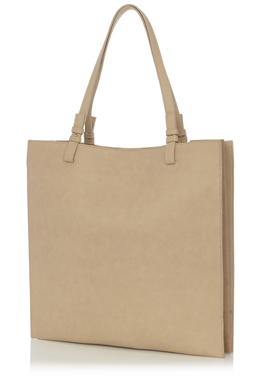 Flat shopper bag