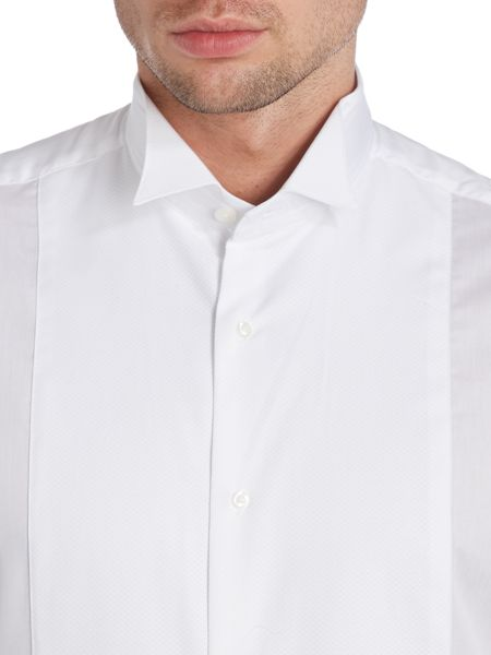 TM Lewin Marcella Plain Classic Wing Collar Dress Shirt