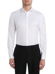 TM Lewin Luxury Plain Slim Fit Long Sleeve Formal Shirt