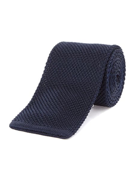 TM Lewin Knitted Silk Slim Tie
