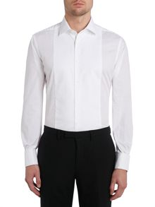 TM Lewin Marcella Front Plain Slim Fit Dress Shirt
