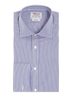 Bengal stripe poplin regular fit shirt