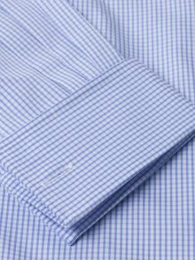 TM Lewin Slim fit gingham Windsor shirt