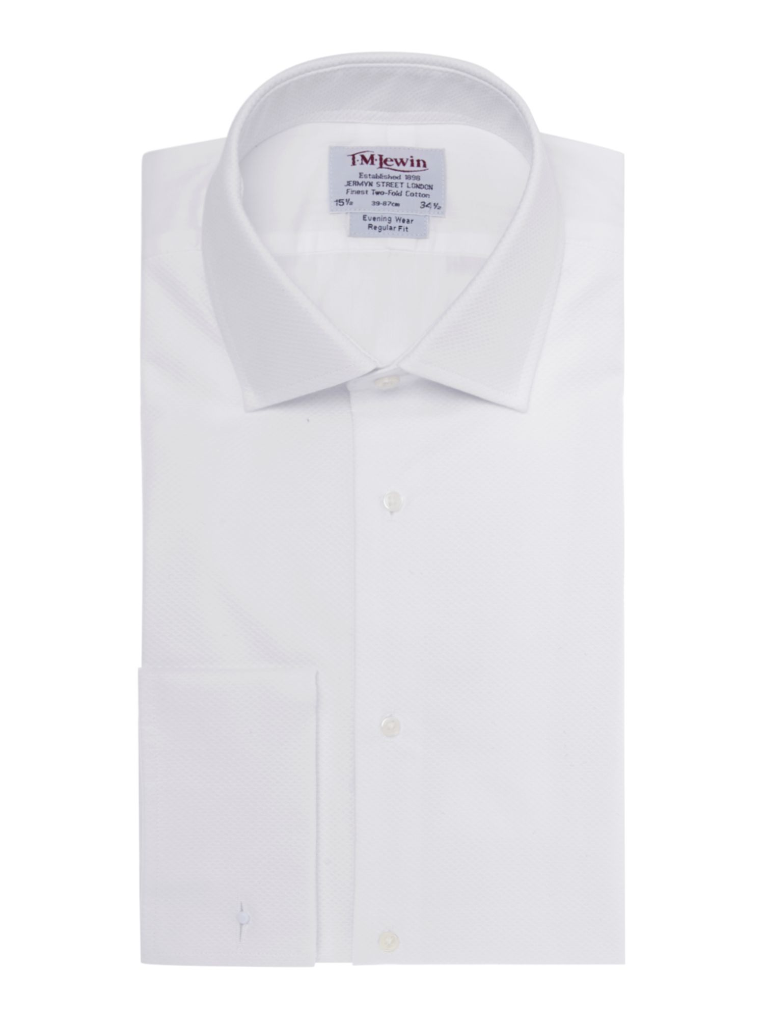 Men 39 s tm lewin marcella plain classic fit dress shirt for Quality classic house of fraser