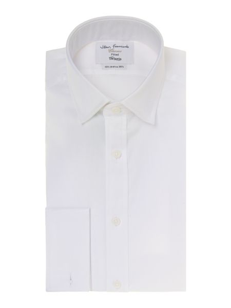TM Lewin Luxury twill fitted shirt