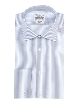 Bengal Stripe Slim Fit Long Sleeve Formal Shirt