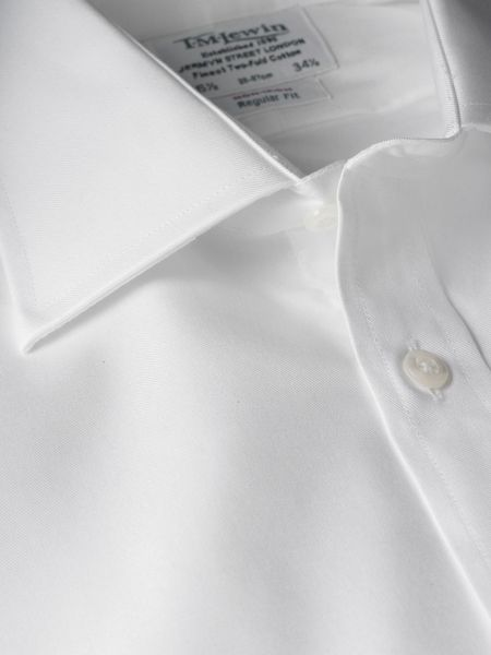 TM Lewin Twill non-iron regular fit shirt