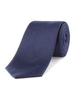 Textured Slim Silk Tie