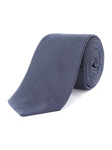 TM Lewin Slim Silk Patterned Tie