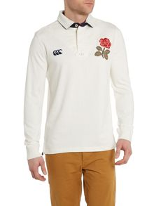 England Plain Regular Fit Rugby Top
