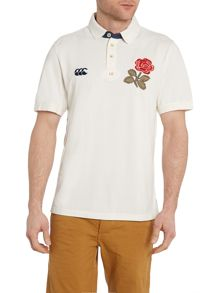 England Rose Badge Regular Fit Polo Shirt
