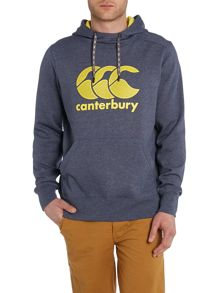 Care Logo Funnel Neck Pull Over Hoody